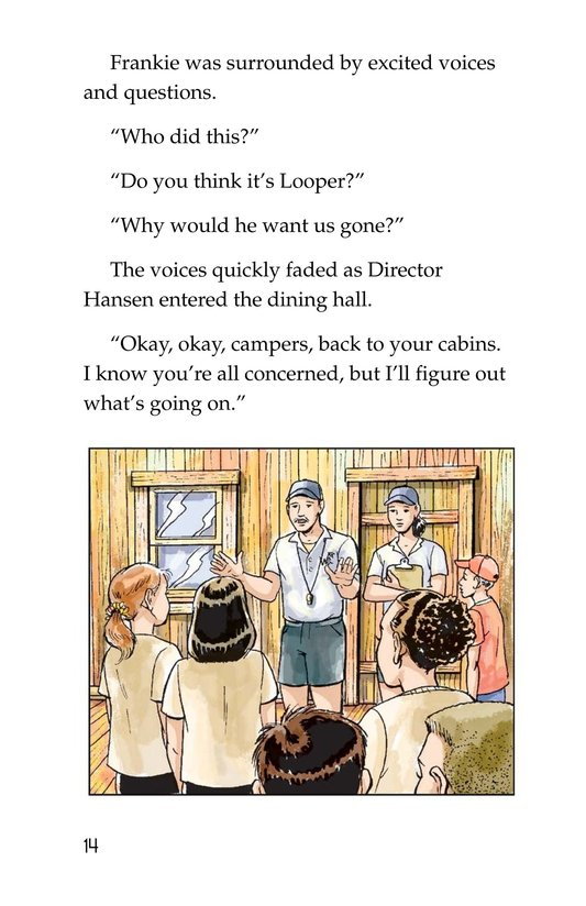 Book Preview For Mystery at Camp White Cloud Page 14