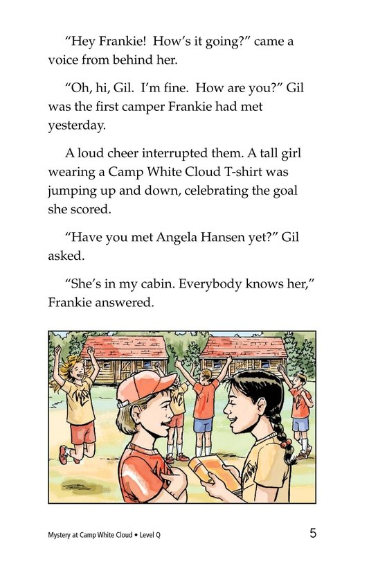 Book Preview For Mystery at Camp White Cloud Page 5