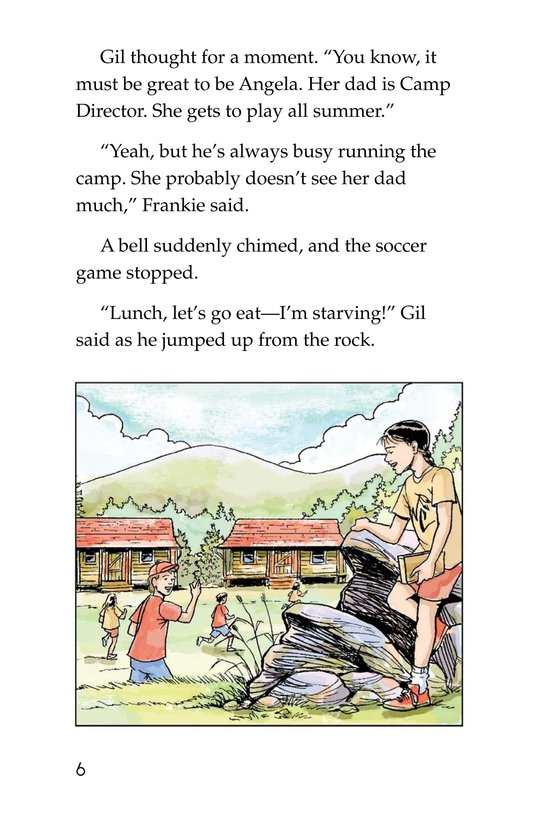 Book Preview For Mystery at Camp White Cloud Page 6