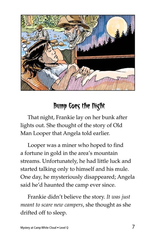 Book Preview For Mystery at Camp White Cloud Page 7