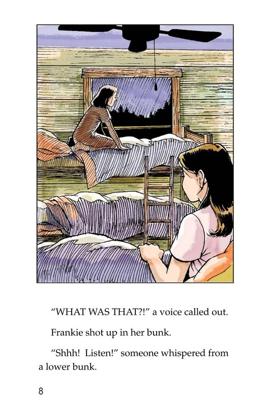 Book Preview For Mystery at Camp White Cloud Page 8