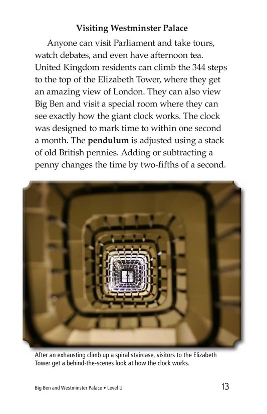 Book Preview For Big Ben and Westminster Palace Page 13