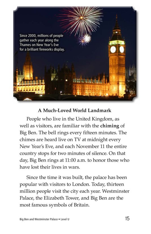 Book Preview For Big Ben and Westminster Palace Page 15