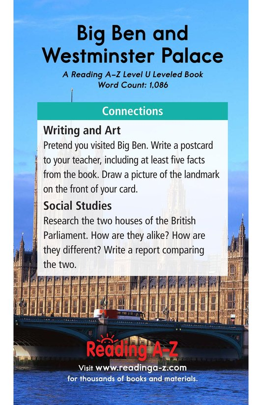 Book Preview For Big Ben and Westminster Palace Page 17