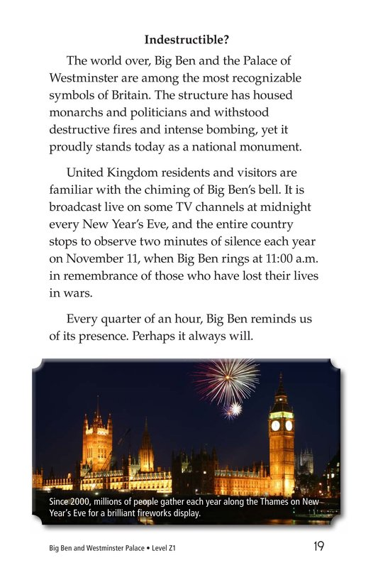 Book Preview For Big Ben and Westminster Palace Page 19