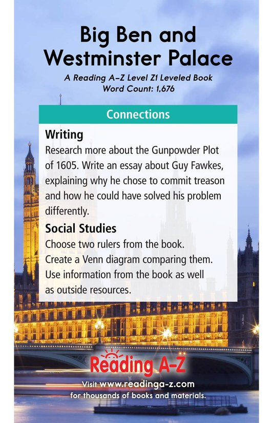 Book Preview For Big Ben and Westminster Palace Page 21