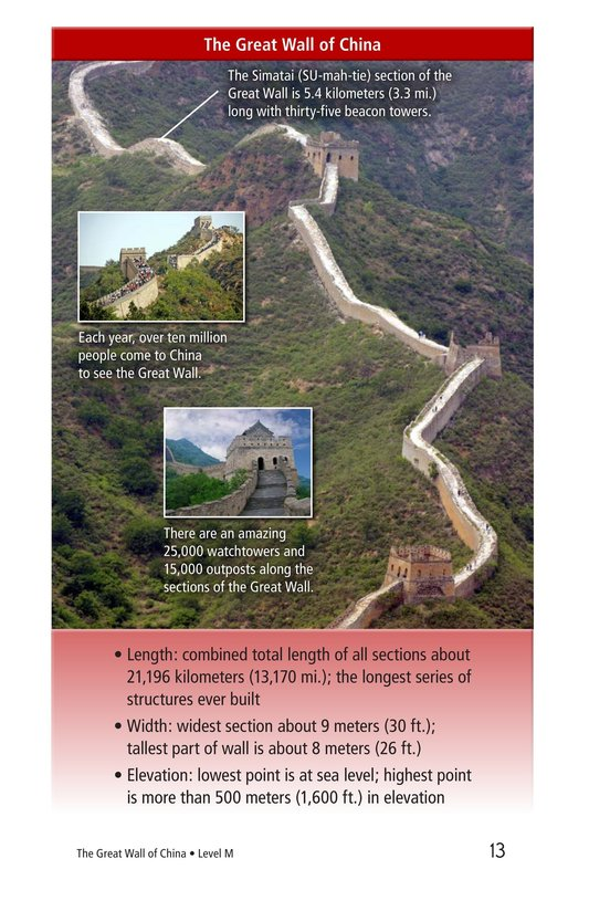 Book Preview For The Great Wall of China Page 13