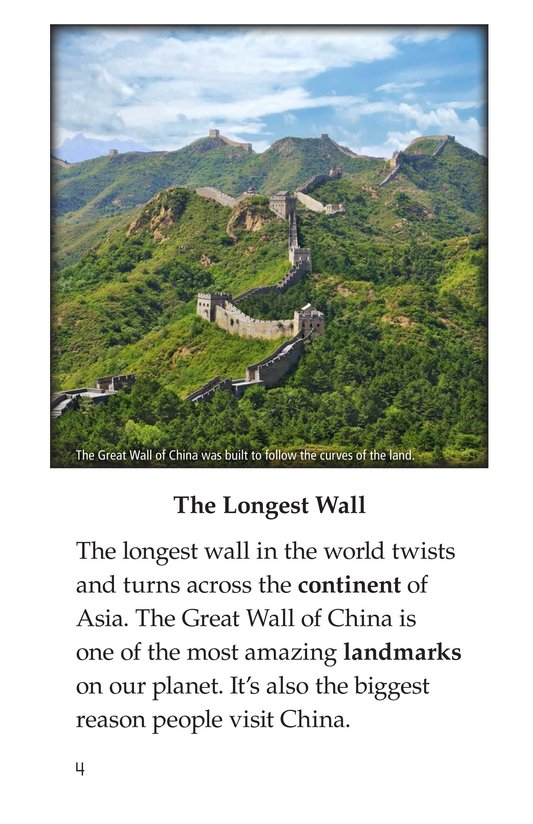 Book Preview For The Great Wall of China Page 4