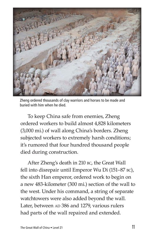 Book Preview For The Great Wall of China Page 11