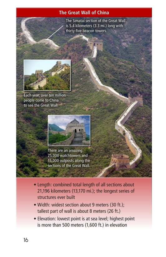 Book Preview For The Great Wall of China Page 16
