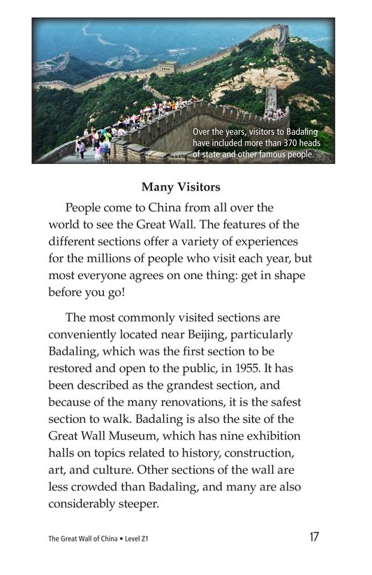 Book Preview For The Great Wall of China Page 17