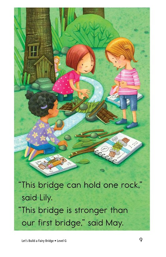 Book Preview For Let's Build a Fairy Bridge Page 9