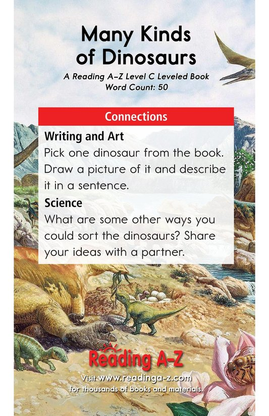 Book Preview For Many Kinds of Dinosaurs Page 11