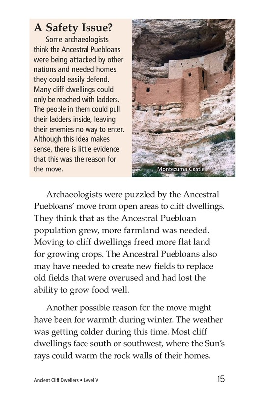Book Preview For Ancient Cliff Dwellers Page 15