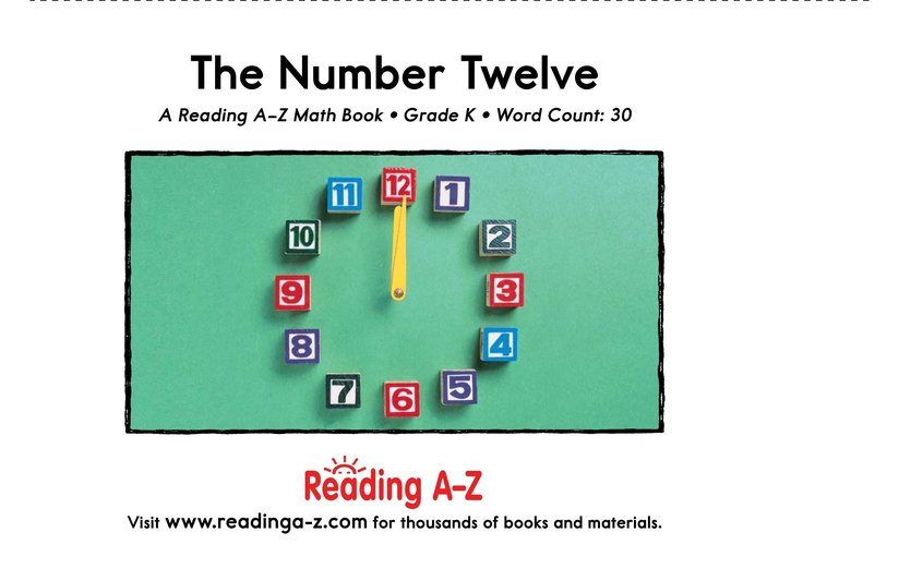 Book Preview For The Number Twelve Page 9