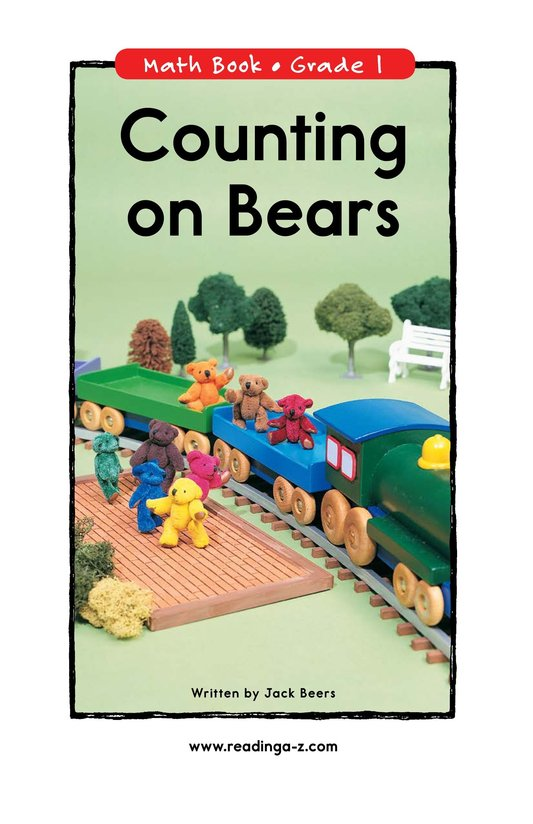 Book Preview For Counting on Bears Page 0