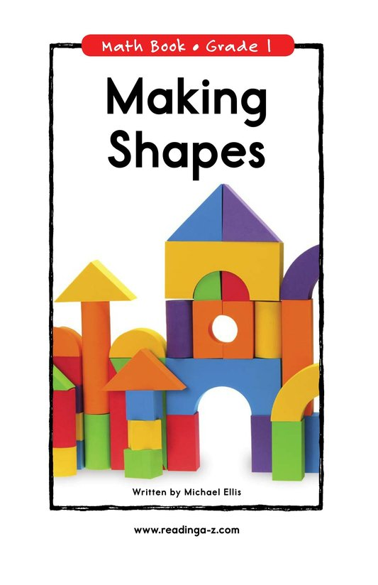 Book Preview For Making Shapes Page 0