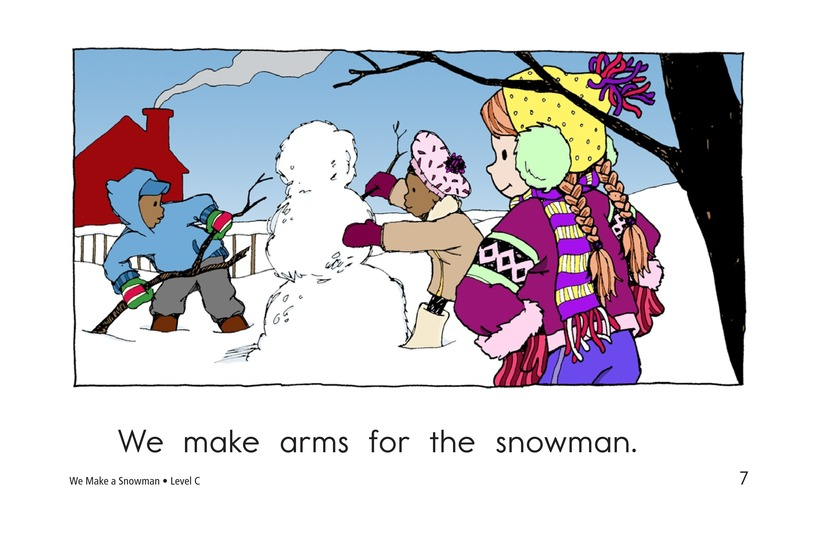 Book Preview For We Make a Snowman Page 7