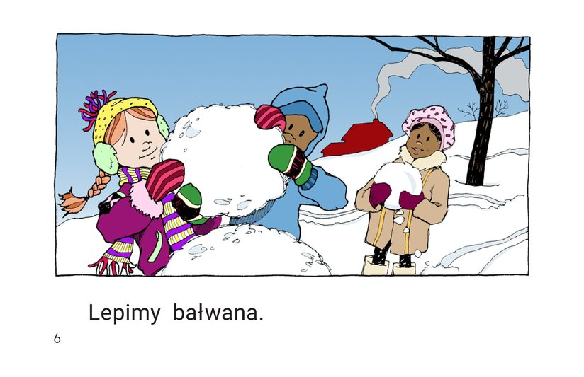 Book Preview For We Make a Snowman Page 6