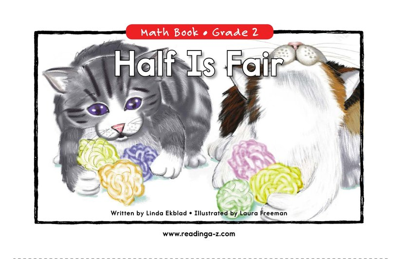 Book Preview For Half Is Fair Page 0