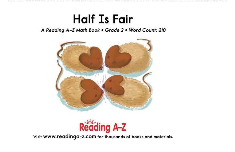 Book Preview For Half Is Fair Page 17