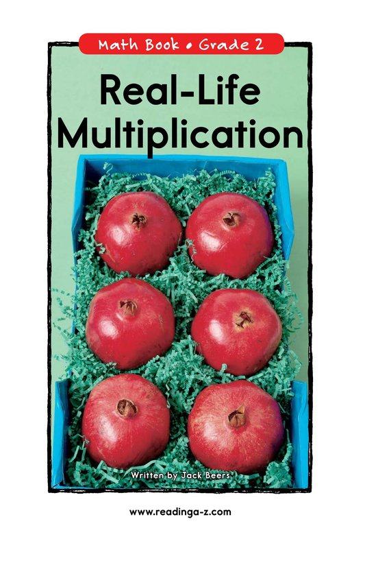 Book Preview For Real-Life Multiplication Page 0