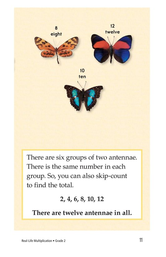 Book Preview For Real-Life Multiplication Page 11