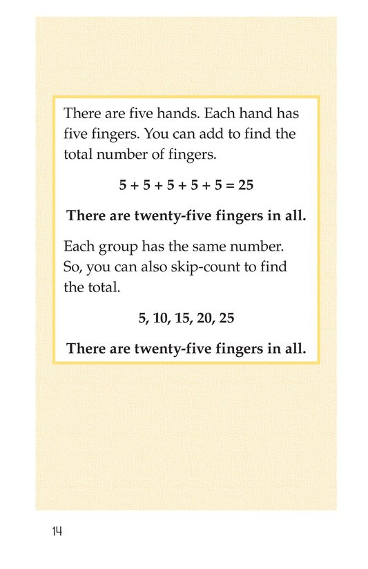 Book Preview For Real-Life Multiplication Page 14