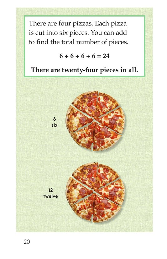 Book Preview For Real-Life Multiplication Page 20