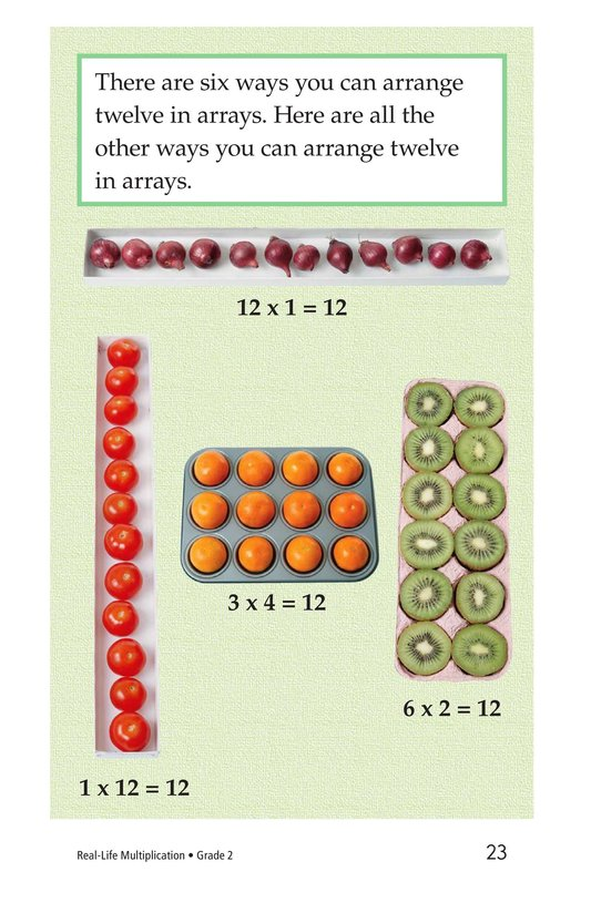 Book Preview For Real-Life Multiplication Page 23