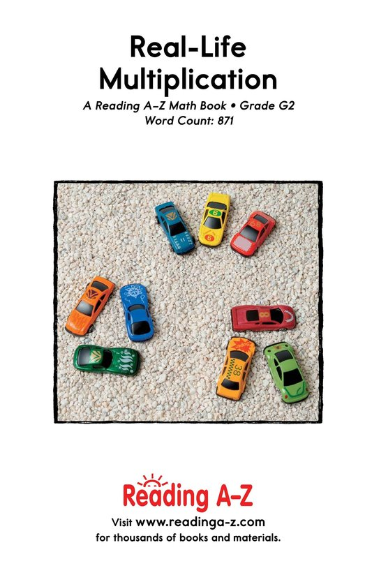 Book Preview For Real-Life Multiplication Page 25