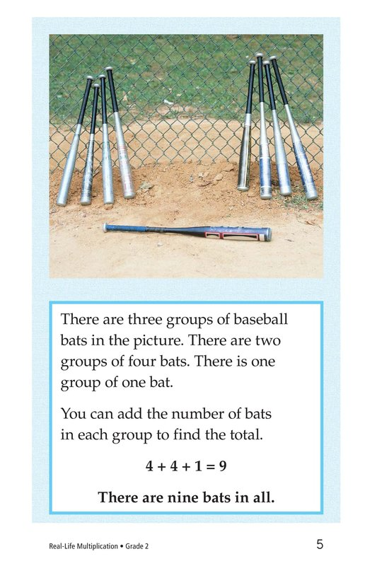 Book Preview For Real-Life Multiplication Page 5