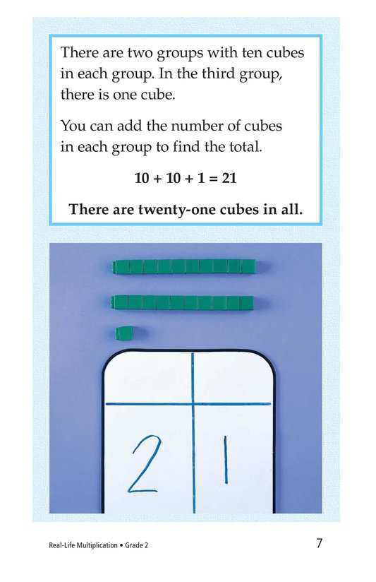 Book Preview For Real-Life Multiplication Page 7