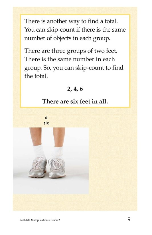 Book Preview For Real-Life Multiplication Page 9