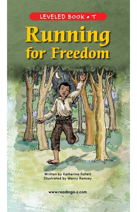 Book Preview For Running for Freedom Page 1