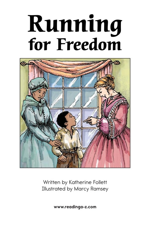 Book Preview For Running for Freedom Page 2