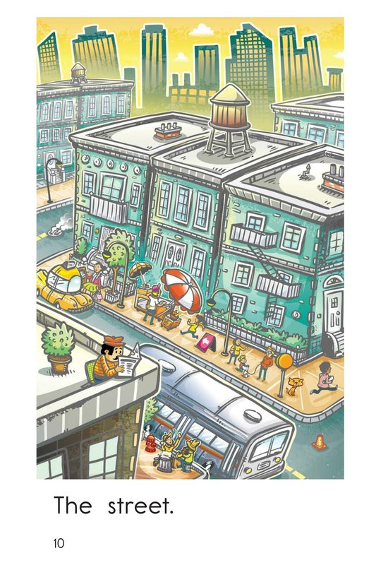Book Preview For City Street Page 10