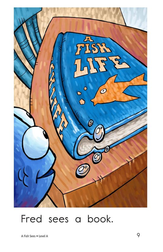 Book Preview For A Fish Sees Page 9