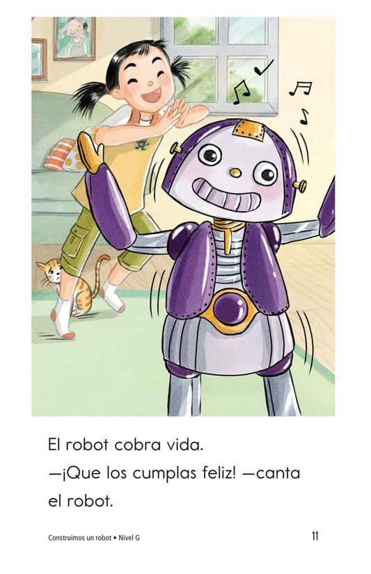 Book Preview For We Build a Robot Page 11