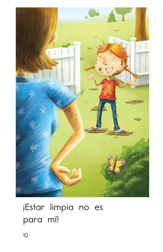Book Preview For Clean Is Not for Me! Page 10