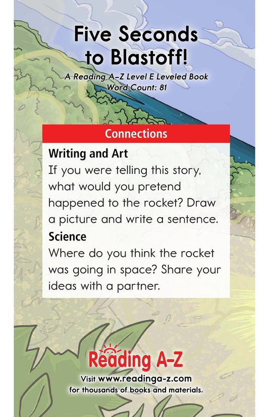 Book Preview For Five Seconds to Blastoff! Page 13