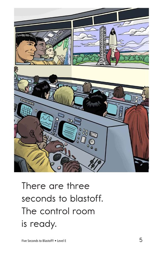 Book Preview For Five Seconds to Blastoff! Page 5