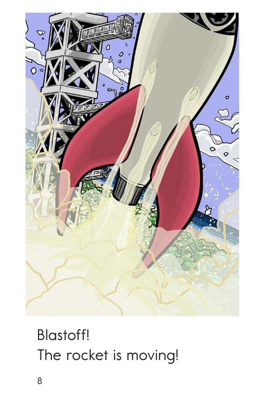 Book Preview For Five Seconds to Blastoff! Page 8