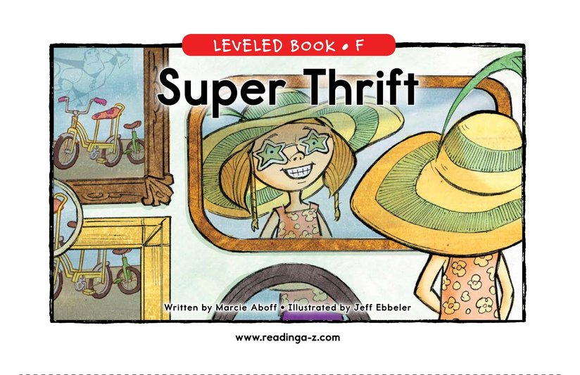Book Preview For Super Thrift Page 0