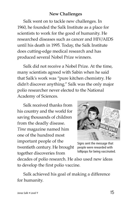 Book Preview For Jonas Salk Page 15