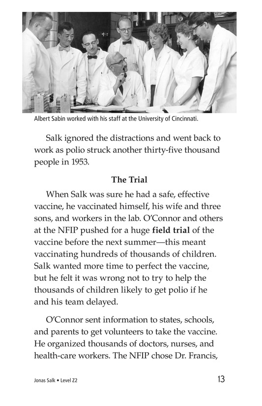 Book Preview For Jonas Salk Page 13