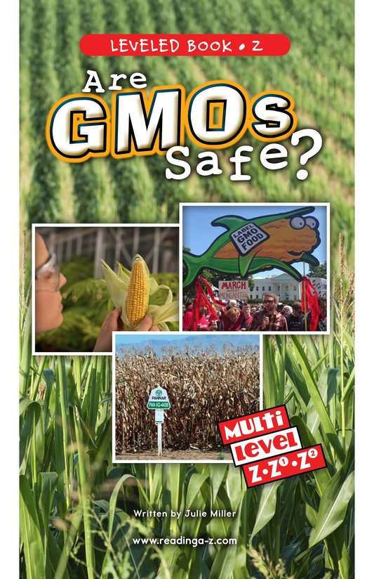 Book Preview For Are GMOs Safe? Page 0
