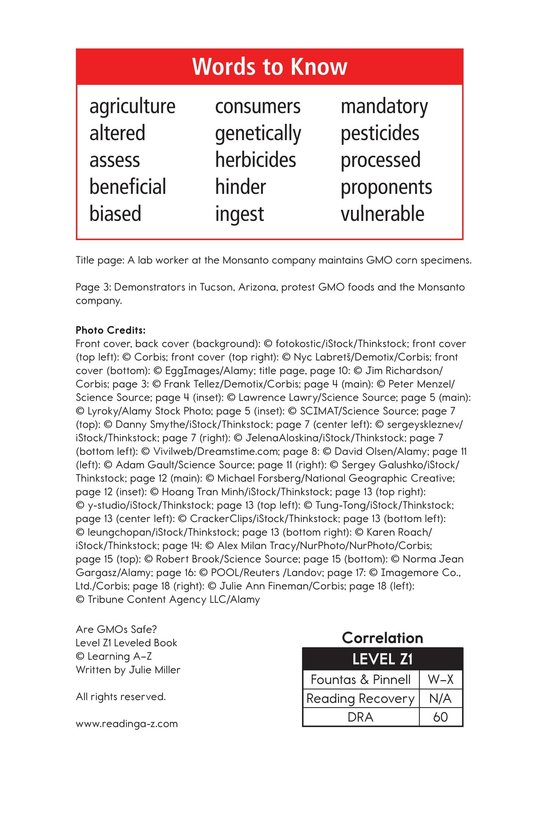 Book Preview For Are GMOs Safe? Page 2