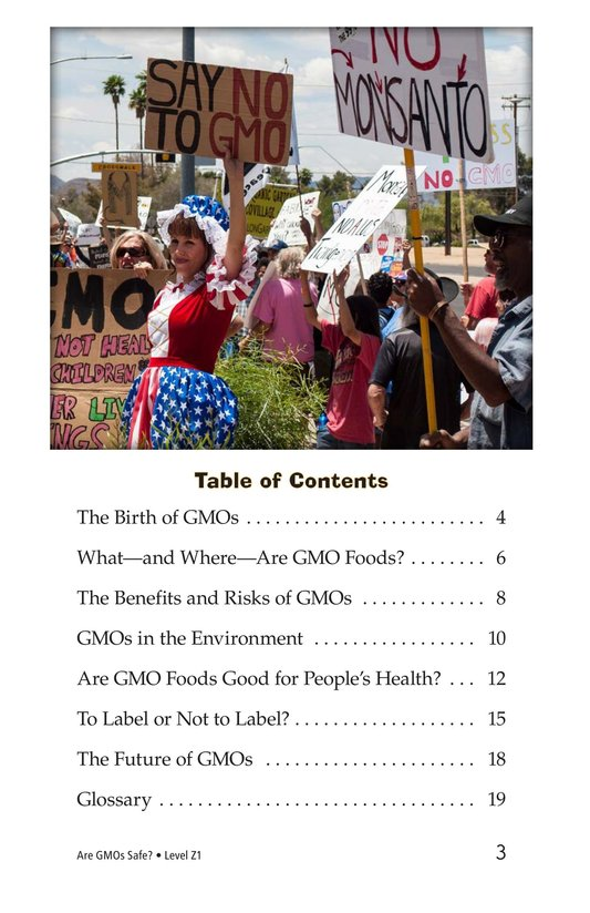 Book Preview For Are GMOs Safe? Page 3