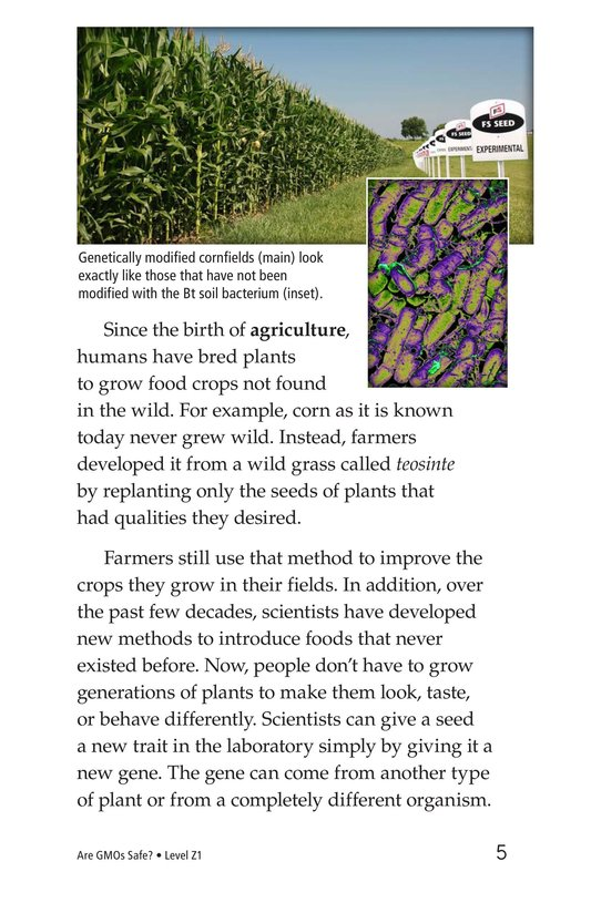 Book Preview For Are GMOs Safe? Page 5